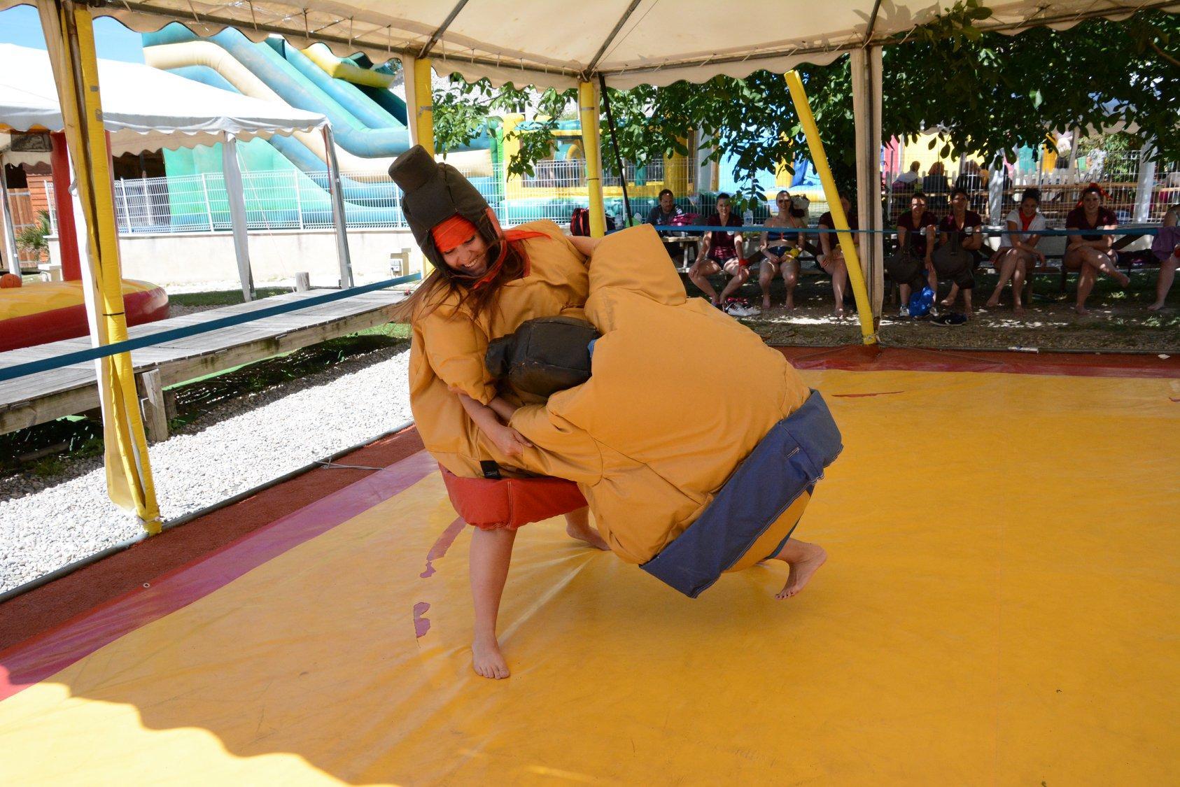 combat de sumo dans la drôme